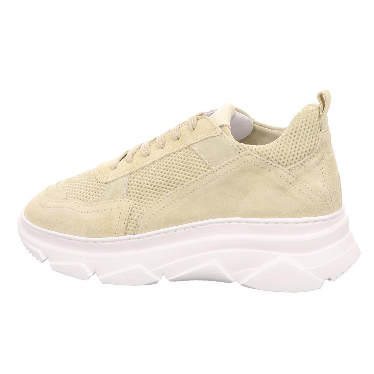 Sneaker COPENHAGEN Velour Leder Gelb