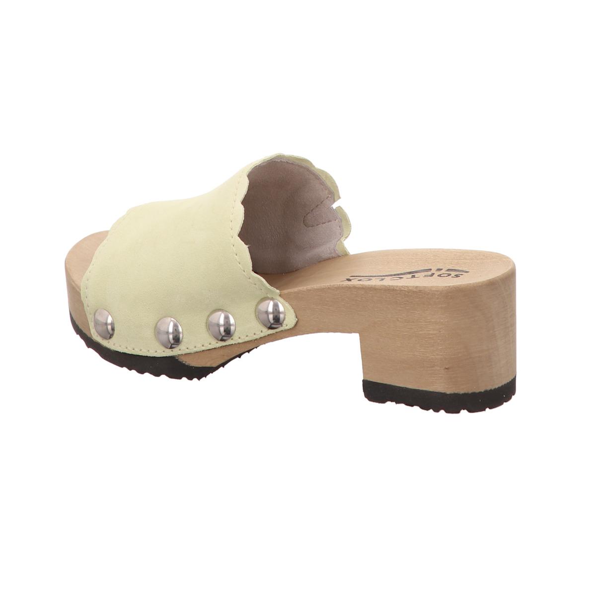 Softclox Pabla Camouflage S3420 Damen Schuhe offene Schuhe
