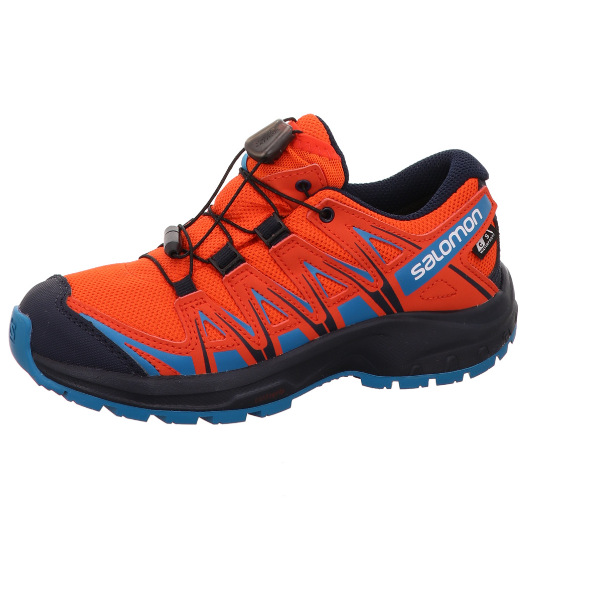 Kinder Sportschuh, XA PRO 3D CSWP J Salomon Gore Tex Orange