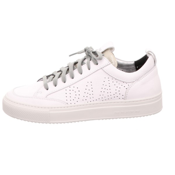 Sneaker P448 Shoes Glatt Leder Weiss