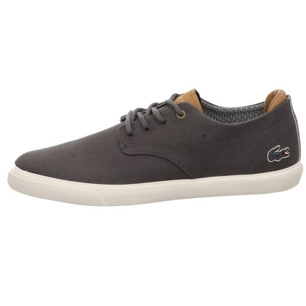 Sneaker, Esparre 118 4 Cam LACOSTE Leinen Grau