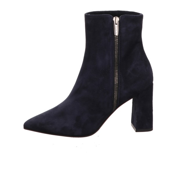 Stiefelette The Seller Velour Leder Blau