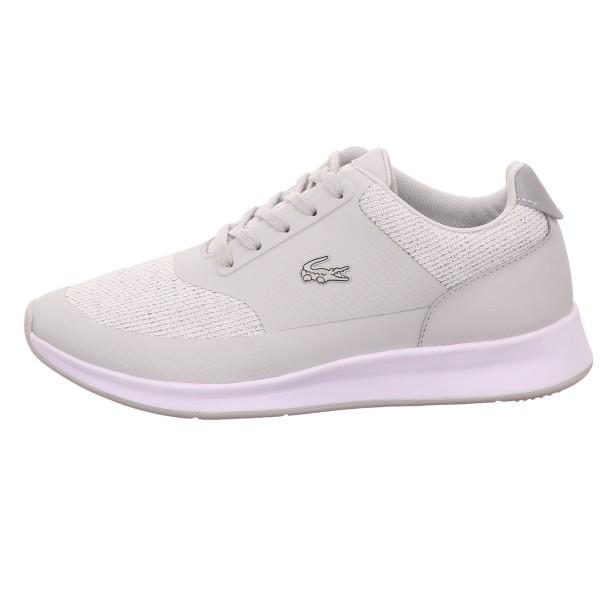 Sneaker, Chaumont Lace 117 LACOSTE Leder/ Textil kombi Grau