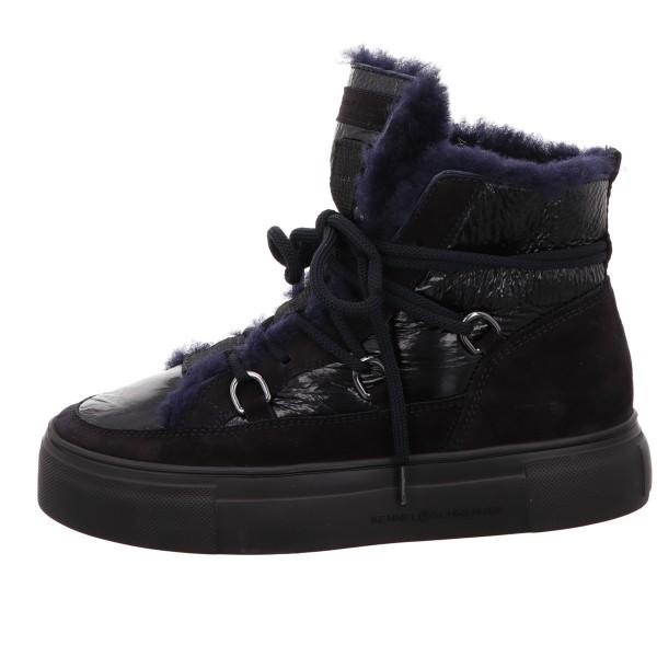 Sneaker, Big Kennel und Schmenger Velour Leder Blau