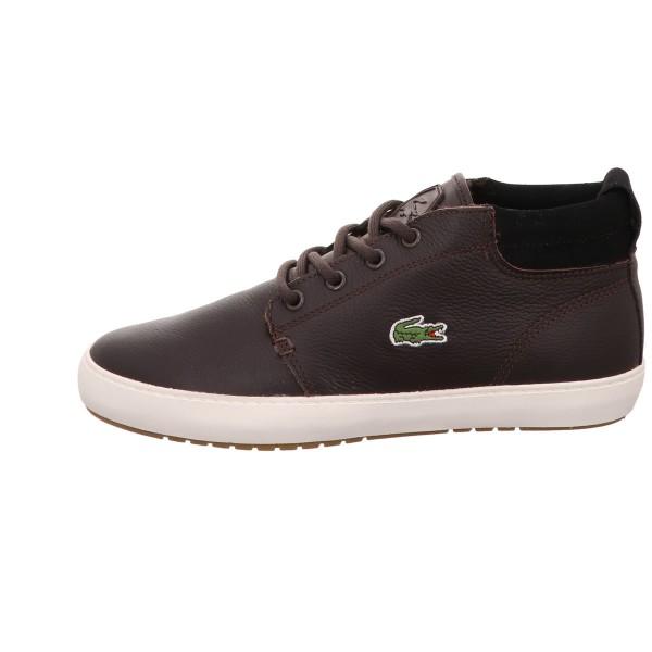 Sneaker LACOSTE Glatt Leder Braun