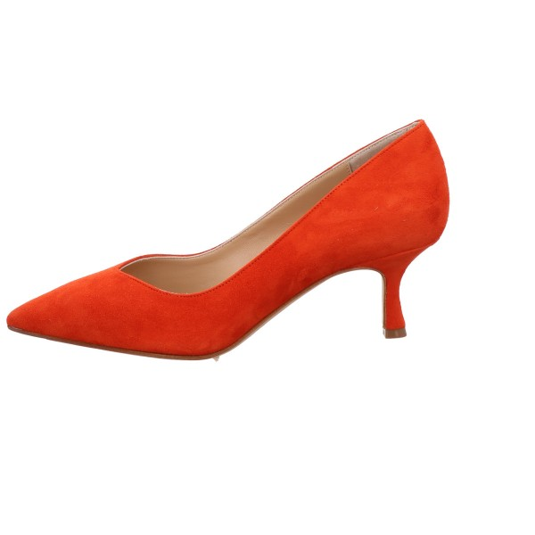 Pumps The Seller Velour Leder Rot