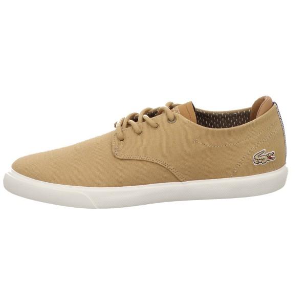 Sneaker, Esparre 118 4 Cam LACOSTE Leinen Natur