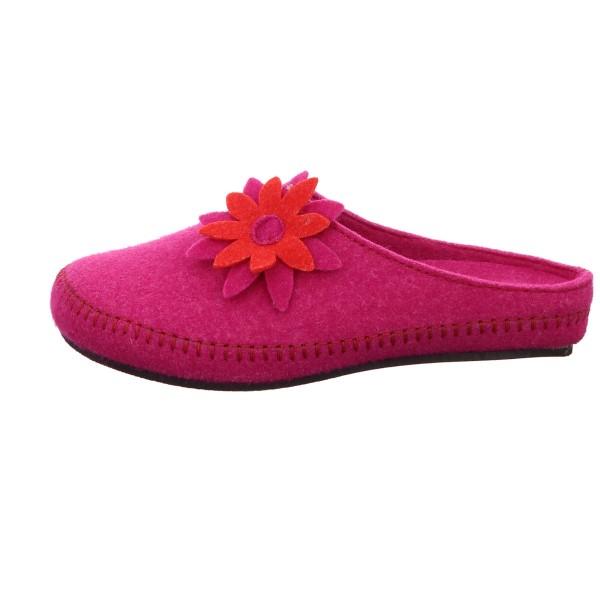 Pantolette Rohde Filz Pink