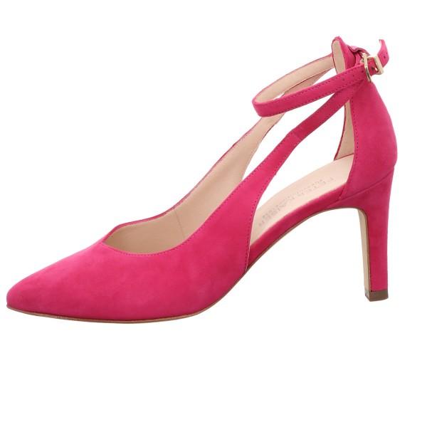 Pumps, Berry Peter Kaiser Velour Leder Pink